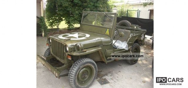 Jeep  1943 Willys Costruzione + carrello rimorchio 1949 Vintage, Classic and Old Cars photo