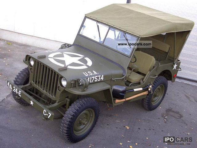 Jeep  Willys M201 PACK U.S. 1961 Vintage, Classic and Old Cars photo