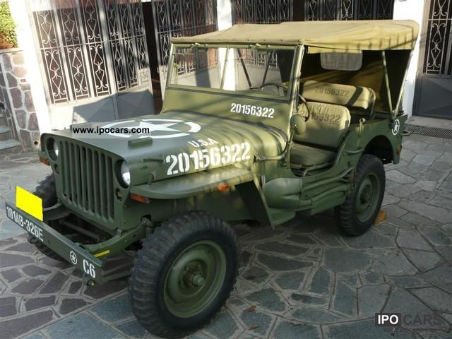 Jeep  Willys MB GPW 1945 ORIGINAL + REST RICAMBI 1945 Vintage, Classic and Old Cars photo
