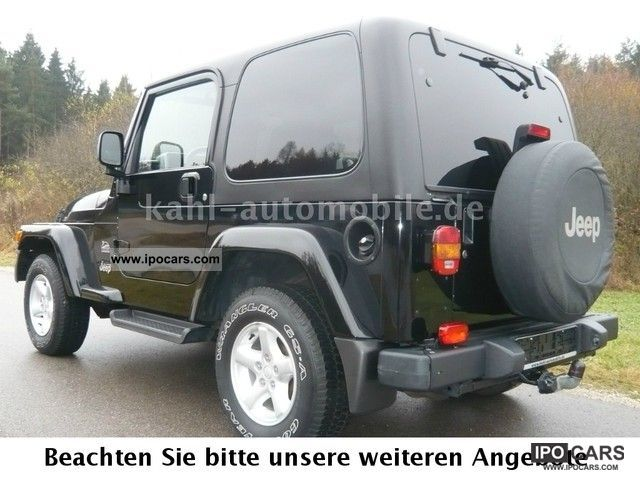 ... 2006 Jeep Wrangler Sahara 4.0 Auto, 2.Hd, Trailer Hitch, Sitzheiz Off  ...