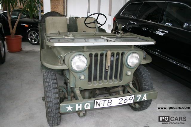 Jeep  Willys CJ3A 1950 Vintage, Classic and Old Cars photo