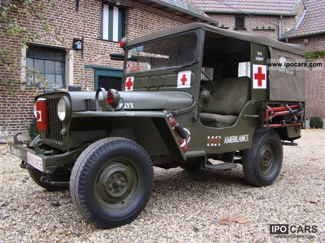 Jeep  Willys - DJ3A Ambulance 1961 Vintage, Classic and Old Cars photo