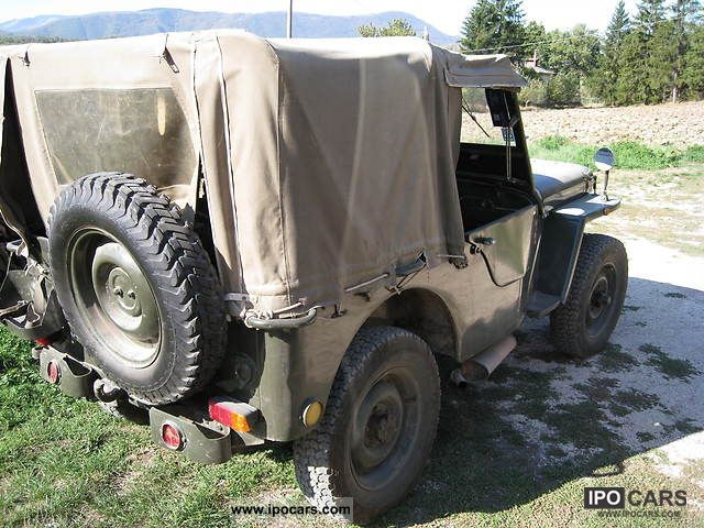 1968 Jeep Willys Cj6 Car Photo And Specs