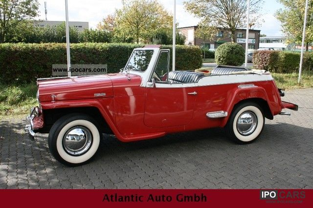 Jeep  Jeepster convertible rarity 1948 Vintage, Classic and Old Cars photo