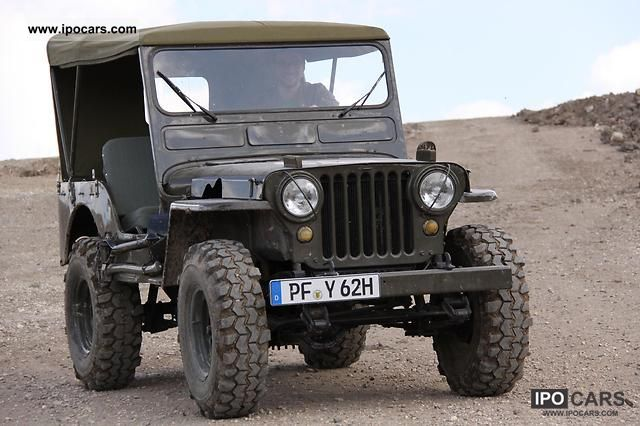 jeep willys m38 1945 used vehicle photo