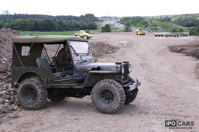 1945 jeep willys m38 car photo and specs. Black Bedroom Furniture Sets. Home Design Ideas