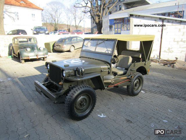 Jeep  Willys MB (Ford GPW) 1943 Vintage, Classic and Old Cars photo
