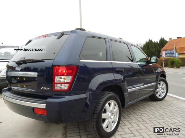 2009 jeep grand cherokee 3 0 turbo v6 crd overland aut car photo and specs. Black Bedroom Furniture Sets. Home Design Ideas