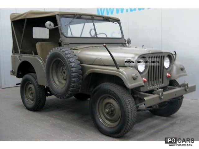 Jeep  Willys Overland M38 A-1 rare only 820 copies 1958 Vintage, Classic and Old Cars photo