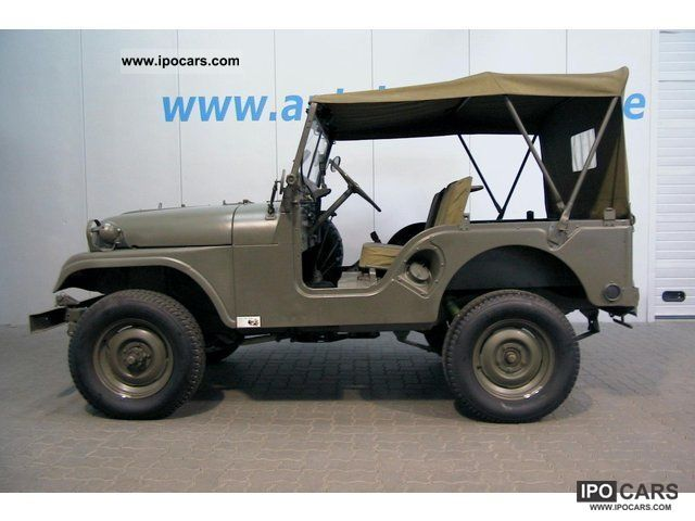 1958 Willys Jeep Wagon http://ipocars.com/vinfo/jeep/willys_overland_m38_a_1_rare_only_820_copies-1958.html
