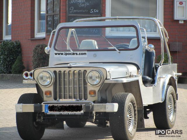 1953 Jeep  Manila -! 1st of 5 pieces Worldwide / Edel Off-road Vehicle/Pickup Truck Classic Vehicle photo