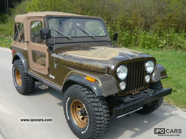 Jeep  Golden Eagle V8, original paint!, Orig. 32 TMLS, 2.Hand 1978 Vintage, Classic and Old Cars photo