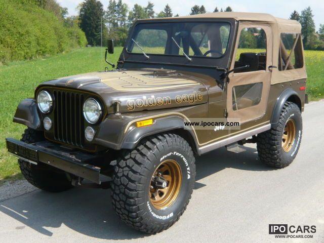 1978 Jeep Golden Eagle V8 Original Paint Orig 32 TMLS