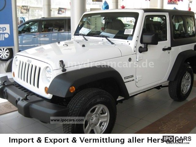 2012 Jeep  Wrangler 3.6l Sport, 2012 T1, BRHV: 31.900, - USD Off-road Vehicle/Pickup Truck Used vehicle photo
