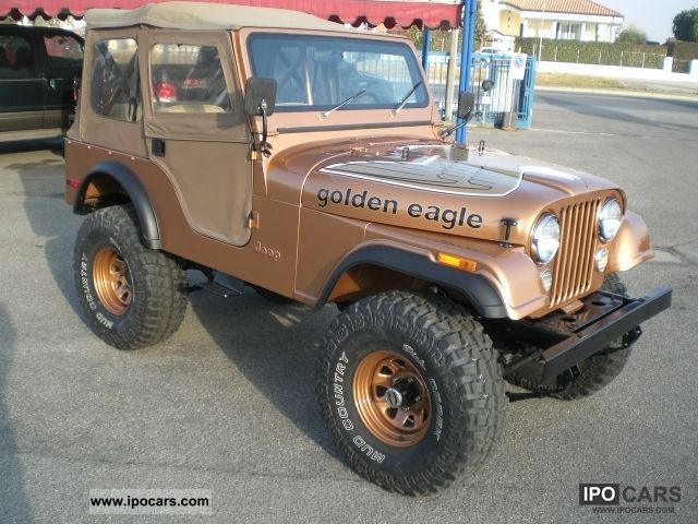 Jeep  5.0 V8 CJ GOLDEN EAGLE! ! ! 1978 Vintage, Classic and Old Cars photo