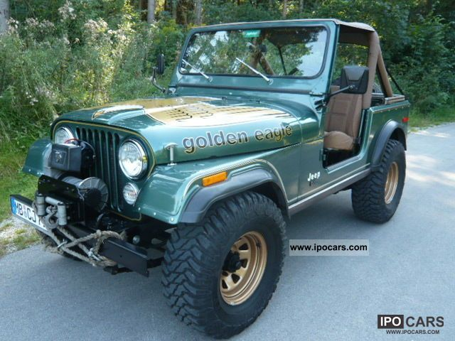 Jeep  CJ Golden Eagle Quadratrac V8, original paint, 29tmls 1979 Vintage, Classic and Old Cars photo