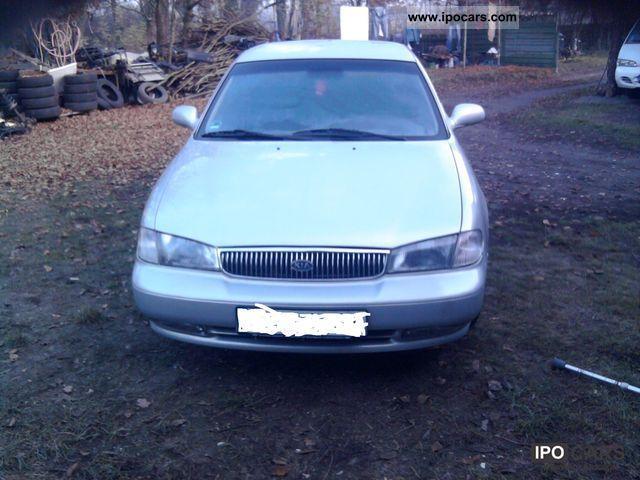 1997 Kia  Clarus 2.0 benz climate elektryka mały przebieg Limousine Used vehicle photo