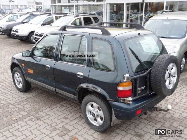 ... 1999 Kia Special Sportage Model Gascoigne Off Road Vehicle/Pickup Truck  Used Vehicle Photo ...