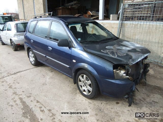 2003 Kia Carens CRDi LX, air, fire damage  Van / Minibus Used
