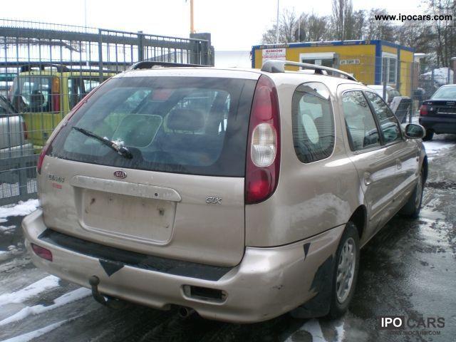 2000 Kia Clarus Kombi GLX Estate Car Used vehicle photo