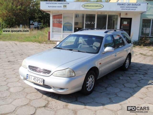 1999 Kia  Clarus Kombi 1.8 99/00r. 7os. Estate Car Used vehicle photo
