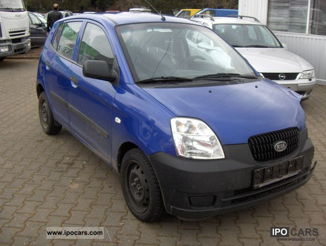 2005 kia picanto 1 1 air car photo and specs. Black Bedroom Furniture Sets. Home Design Ideas