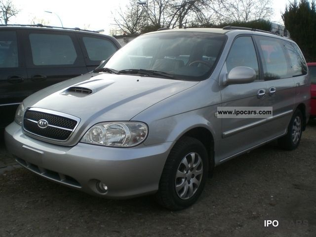2004 Kia Carnival 2.9 CRDi EX, 7 seater, air- - Car Photo ...