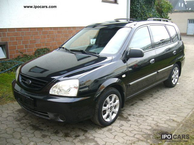2004 Kia Carens Crdi Lx Car Photo And Specs