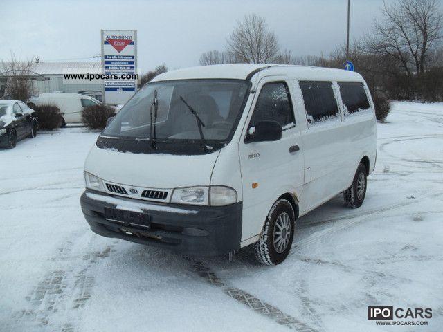 2002 Kia  6 seater truck Pregio approval Van / Minibus Used vehicle photo