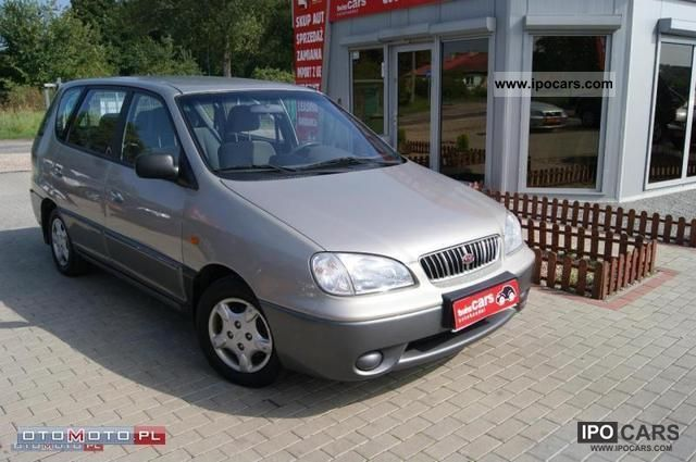 2002 Kia  Carens * AIR * ELEKTRYKA Van / Minibus Used vehicle photo