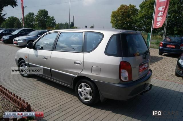 2002 Kia Carens   Air   Elektryka