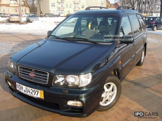 2000 Kia  7 OSOBOWY.1 WŁAŚCICIEL Van / Minibus Used vehicle photo