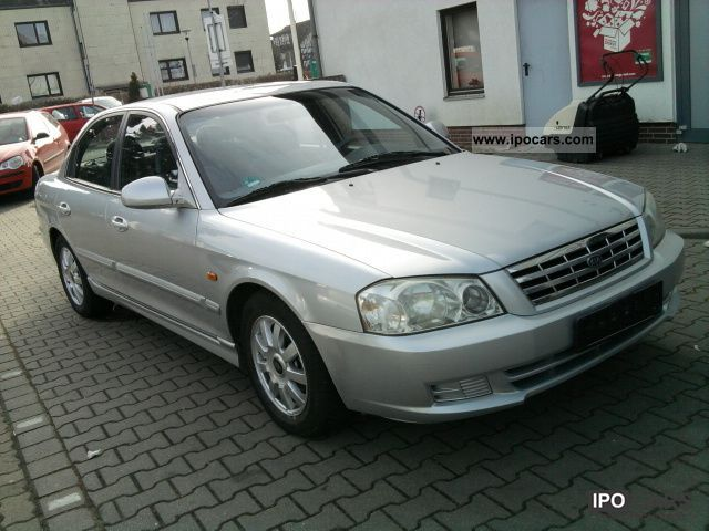 Kia  Magentis 2.0 (Petrol & LPG GAS LIQUIDS 2001 Liquefied Petroleum Gas Cars (LPG, GPL, propane) photo