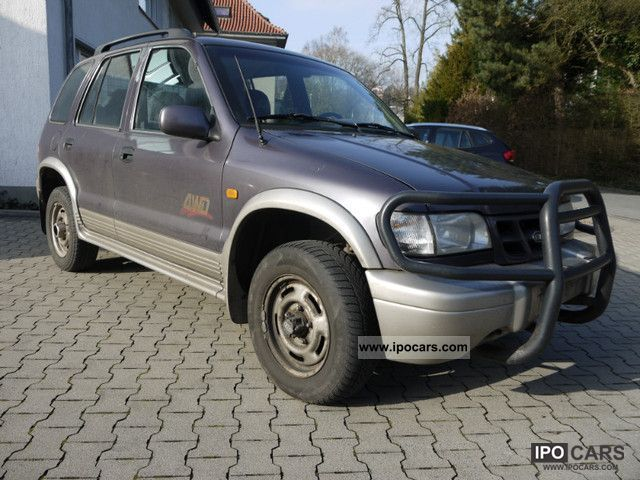2001 Kia  Sportage 4WD 16V Classic Off-road Vehicle/Pickup Truck Used vehicle photo