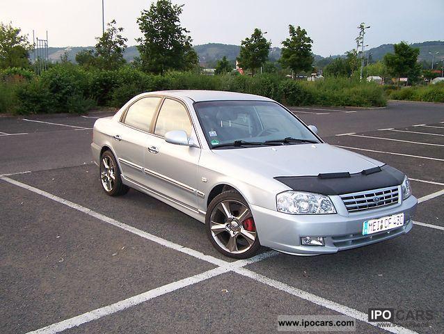 2002 Kia  Magentis 2.5 V6 / LPG / leather / chrome rims Limousine Used vehicle photo