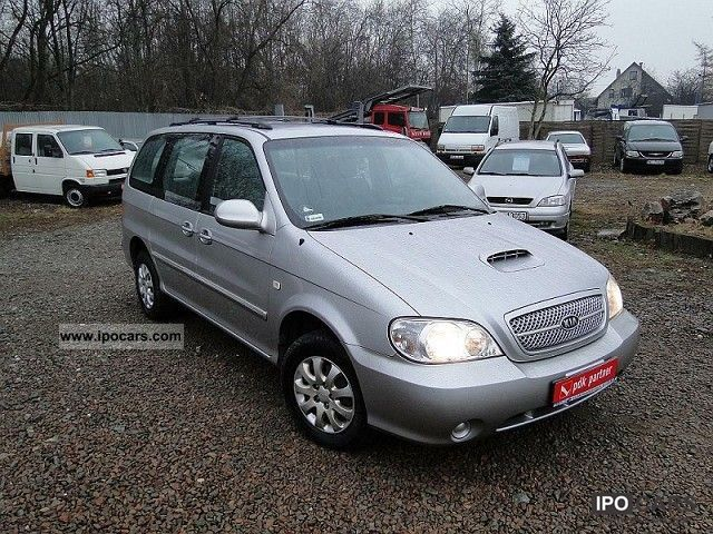 2004 kia carnival 2 9 crdi dostawczy car photo and specs. Black Bedroom Furniture Sets. Home Design Ideas