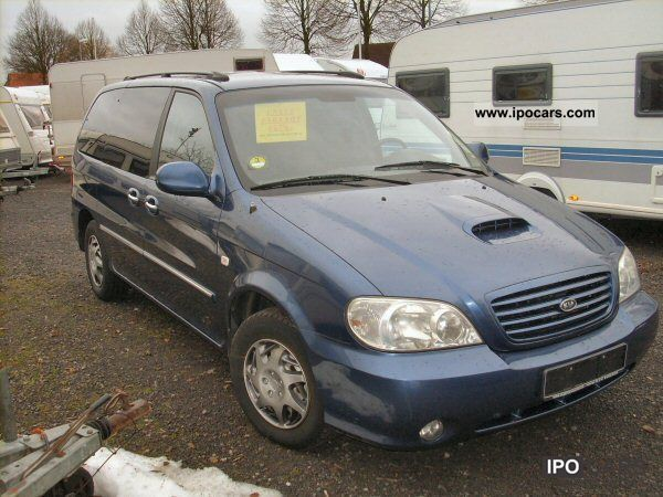 2002 Kia  2.9L CRDi DIESEL Van / Minibus Used vehicle photo