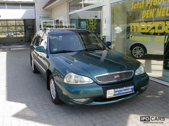 2001 Kia  Clarus 2.0 GLX Estate Car Used vehicle photo