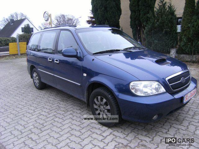 2004 kia carnival crdi automatic auto air ahk 7 sitze car photo and specs. Black Bedroom Furniture Sets. Home Design Ideas