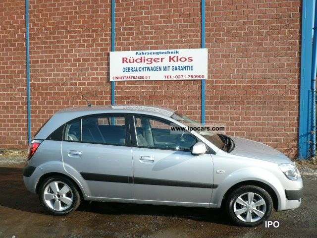 2007 Kia  Rio 1.5 CRDi DPF EX neat car Limousine Used vehicle photo