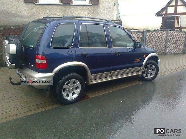 2000 Kia  * 16V BRC LPG liquid-gas * air * Aluminum * TÜV/2014 Off-road Vehicle/Pickup Truck Used vehicle photo