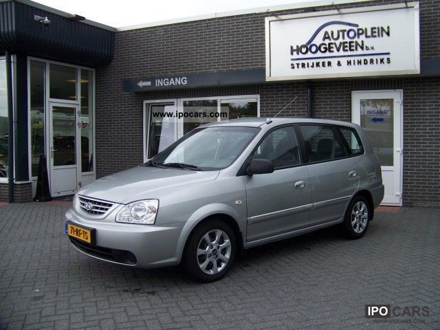 2005 Kia  Carens 1.6 16v LX * Airco * Van / Minibus Used vehicle photo