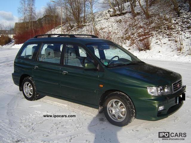 2002 Kia Joice 7 seater / Air / 1 Hand! Estate Car Used vehicle photo
