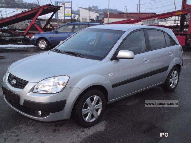 2006 kia rio 1 5 crdi ex car photo and specs. Black Bedroom Furniture Sets. Home Design Ideas