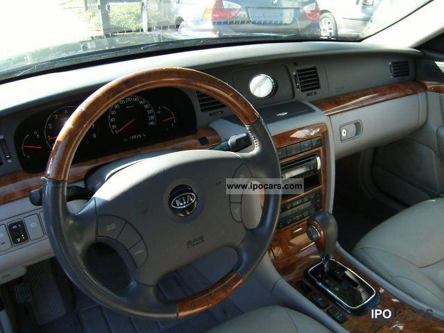 Opirus 2006 Interior 2006 Kia Opirus 3.5 v6 Auto