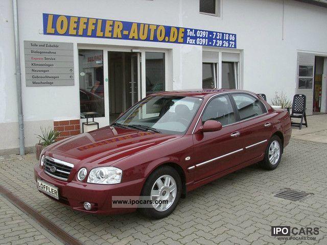 2005 Kia  Magentis 2.5 V6 Aut. EX funding guarantee Limousine Used vehicle photo