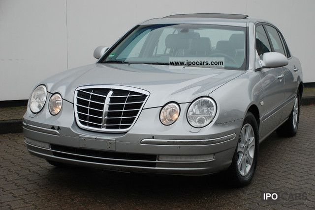 2005 Kia  Opirus 3.5 V6 with LPG gas system Schiebed leather. Limousine Used vehicle photo