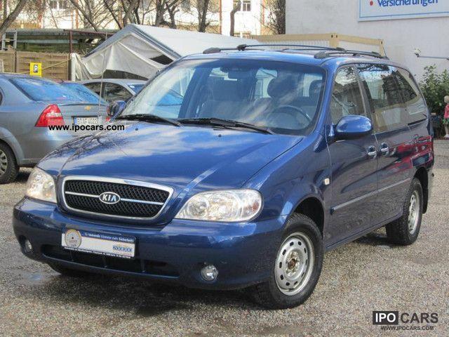 2004 Kia  Aut. * EX * AUTOMATIC * 1.HAND CHECKBOOK * KLIMAAUTOMAT Van / Minibus Used vehicle photo