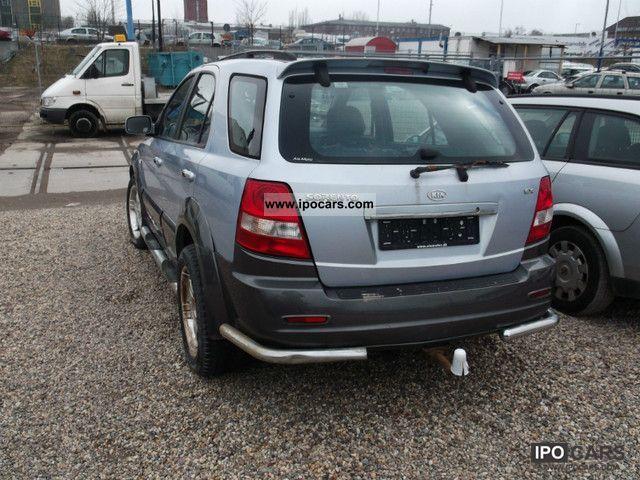2005 Kia Sorento 2.5 CRDi EXLKW approval 2Sitzer - Car Photo and Specs