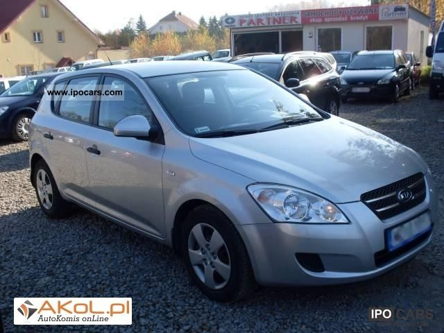 2008 kia cee 39 d 1 6 crdi comfort krajowy f ra car photo and specs. Black Bedroom Furniture Sets. Home Design Ideas